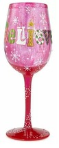 Lolita I Still Believe Too (Pink) Wine Glass Ra... - $43.93