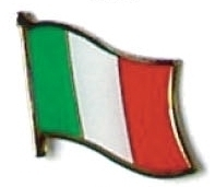 ITALY - Wholesale lot 12 italian flag lapel pins ef117