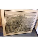 S. FINKENBERG Sandra PENCIL SIGNED LITHOGRAPH Flatiron Building NEW YORK... - $467.14