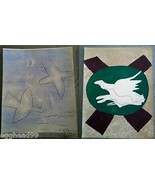 GEORGES BRAQUE set of 2 ORIGINAL LITHOGRAPH doves Print Cubism Modern Ar... - $467.14