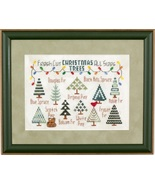CLEARANCE The Christmas Tree Lot christmas cross stitch chart Glendon Pl... - $6.00