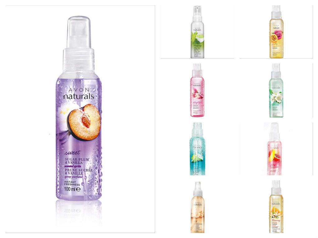 Avon спреи для тела oxygen botanicals косметика купить