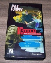 Pat Torpey Big Drums Instruction Video VHS Tape with Music Book Rittor M... - $15.84