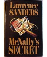 """McNally's Secret by Lawrence Sanders MYSTERY 1992 Hardcover """"A Page Turn... - $4.99"""