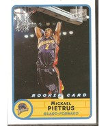 Mickael Pietrus Bazooka 03-04 #244 Rookie Card Golden State Warriors Orl... - $0.50