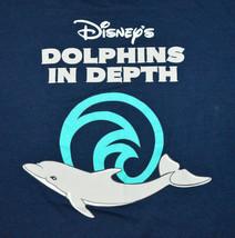 Disney's Dolphins in Depts Walt Disney World Mens T-Shirt Navy Blue Size 2XL - $27.60
