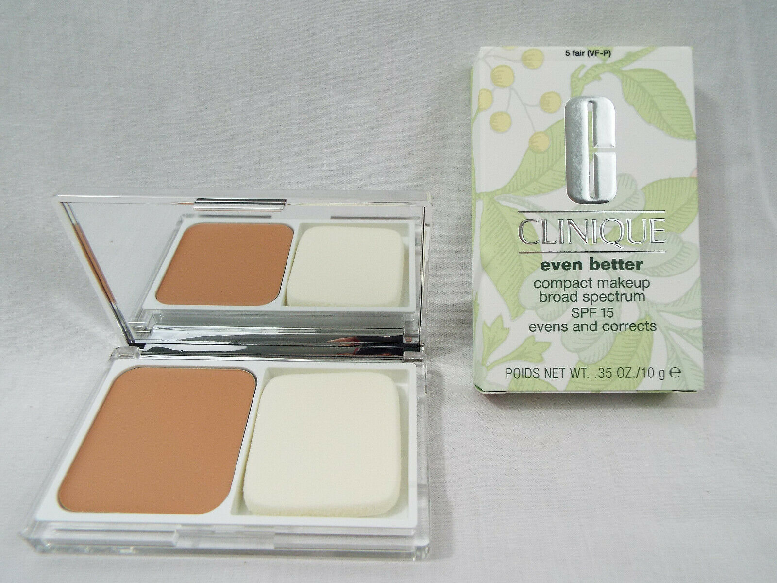 Primary image for Clinique Even Better Compact Makeup SPF15 in Fair 5 VF-P