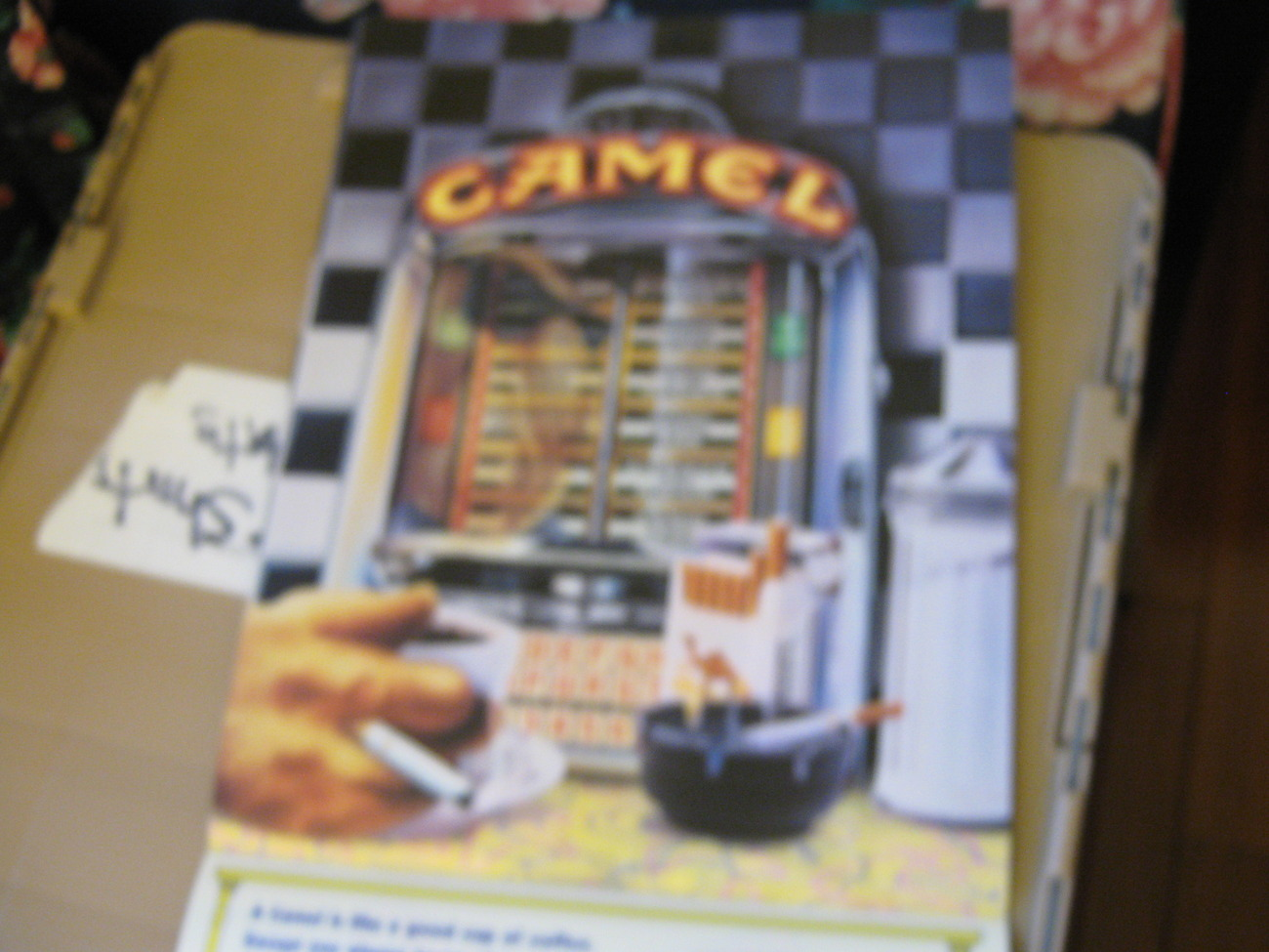 Camel Cigarettes , The Year In Pictures , 1992 Calendar