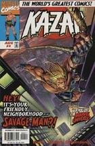 Ka-Zar (V3) #4 NM 1997 Marvel Comic Book - $1.89