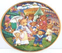 Teddy Bear Fair Collector Plate Franklin Mint Retired Child Room - $59.95