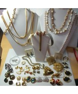 Vintage Signed MONET Mixed Jewelry Lot All Signed - $346.50