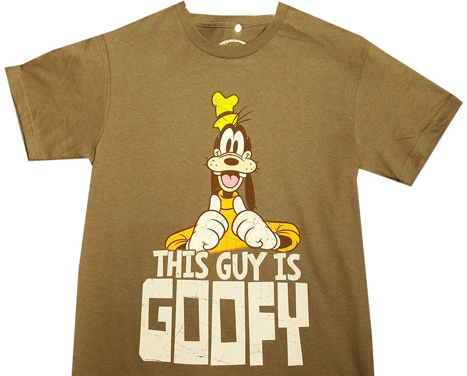 Disney Goofy Tee T Shirt Men T Shirt By Walt Disney Small