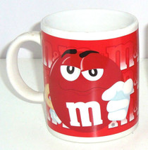 M&M's M&M Candy Red Coffee Mug Galerie Great for Valentines Day - $29.95