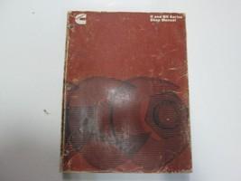 1978 Cummins H & NH Series Diesel Engines Shop Manual DAMAGED WORN FADIN... - $39.55