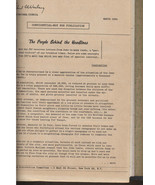 BINDER -JDC NATIONAL COUNCIL PAPERS -1962-1969-CONFIDENTIAL/NOT FOR PUBL... - $99.99