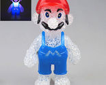 Super Mario Figures Color Changing Night Light Lamp Decor Kids Children Doll Toy