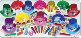 Elite Happy New Year Party Kit for 50 Guests - $65.34