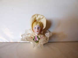 Vintage 1980s Charisma Lady Doll Head Christmas... - $4.95