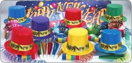 Dazzling Happy New Year Party Kit for 50 Guests - $43.56