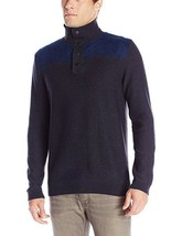 Calvin Klein Jeans Electric Felted Mockneck Sweater, Navy, Sz. Small - $48.51