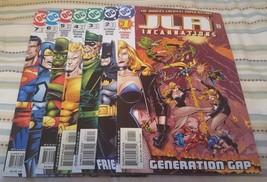 JLA : incarnations #1-7 (complete mini-series) - $24.50