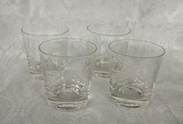 Glass Set of 4 Molded Clear 6oz Tumbler Drinking Tableware Glassware Hom... - $16.82
