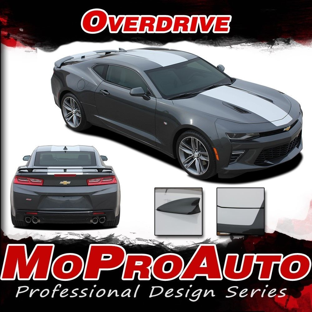 7 Best Chevy Colorado 2016 2017 Vinyl Graphics Stripes: 2016-2017 Chevy Camaro SS RS OVERDRIVE Decals Stripe