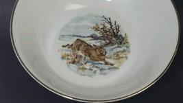 Vintage Bareuther Wild Hare Large Serving Dish - $19.78