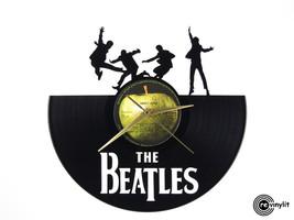 Vinyl record clock - The Beatles clock     Revi... - $28.00