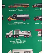 Hess Toy Truck Poster / Millennium Edition 1964-2000 - $39.60