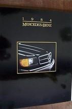 1984 mercedes 380sl owners sales brochure w107 parts service w123 w126 o... - $29.99