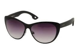 New Ladies Diesel Black Frames Gray Lens Cat Ey... - $105.46