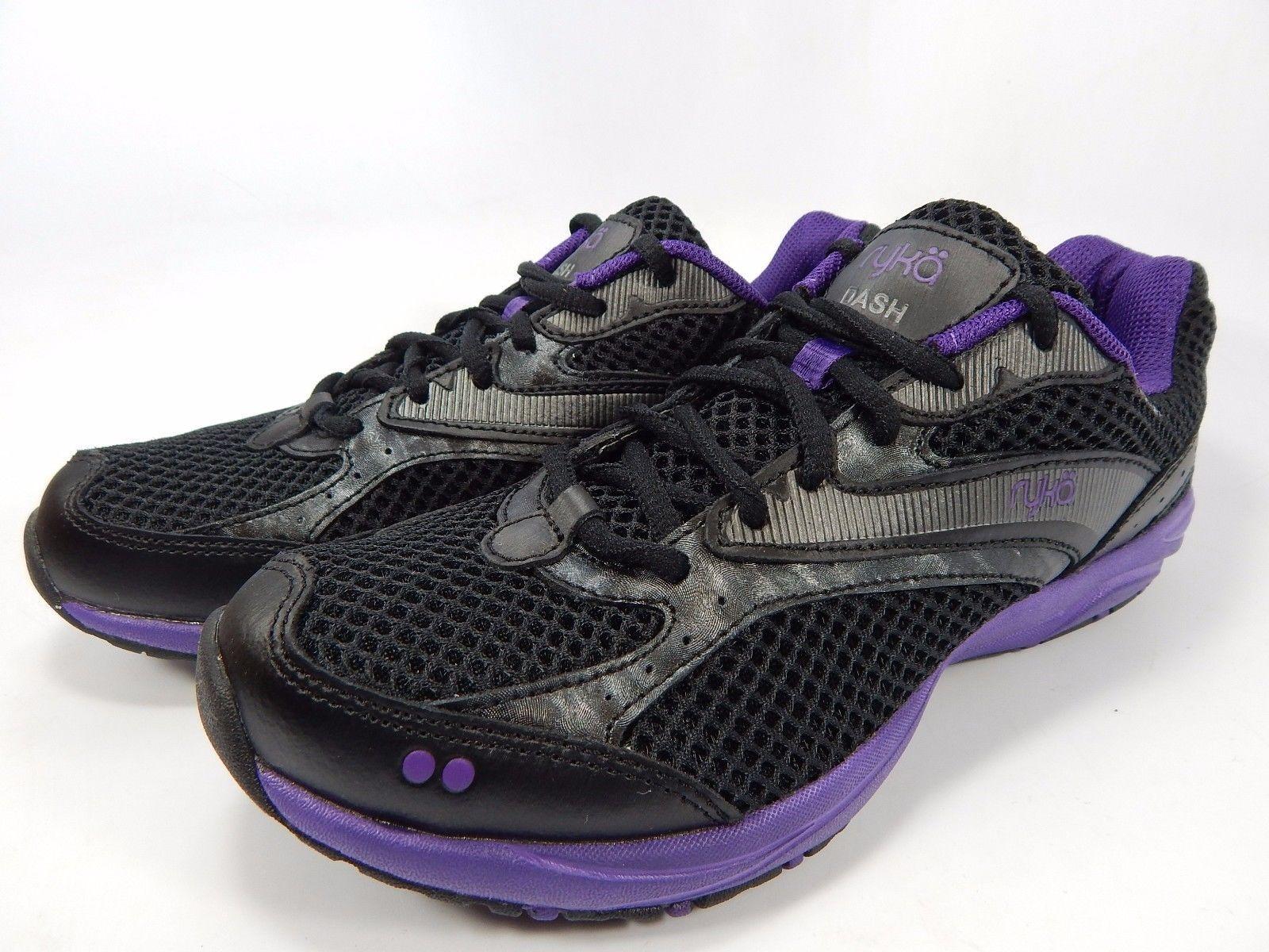 Ryka Dash Women's Running Shoes Size US 5.5 M (B) EU 35.5 Black Purple