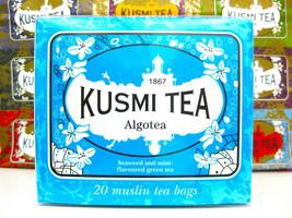 Kusmi Algothe Algotea Seaweed & Mint Green 20 tea bags - $17.81