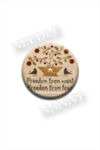 Freedom From Needle Nanny needle minder Litttle House Needleworks Quilt ... - $12.00