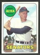 Washington Senators Brant Alyea 1969 Topps Baseball Card 48 vg - $0.60