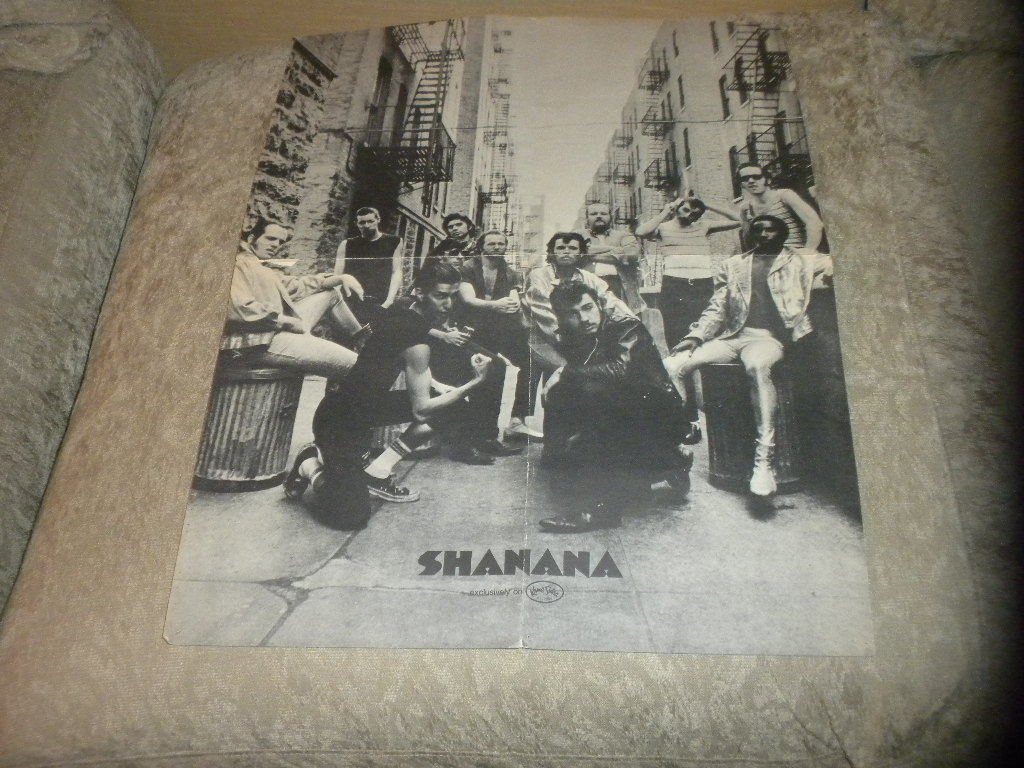 "Primary image for vintage Sha Na Na band music poster Bl & W Photo Kama Sutra Records 17"" x 22"" VG"