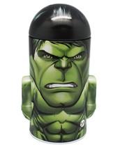 Marvel's Avengers Incredible  Hulk Character Head Shaped Tin Coin Bank New - $7.66