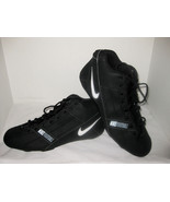 Nike Football Cleats Men's Size 15 Black - $15.00
