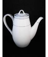 Noritake Brandon Tall Tea Pot ~ Coffee Pot Circa 1960's Pattern #6222 - $69.90