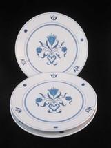 Noritake Progression Blue Haven Salad Plates(3)... - $15.00