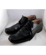 Mens Italiano Italian Italy Black Dress Shoes S... - $55.00