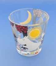 Koji company Moomin Valley Glass Tumbler Forest 540164 JAPAN! - $27.77