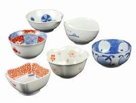 New Somenishiki type changes 6 customer Kozuke assortment 42-01 from japan - $70.92