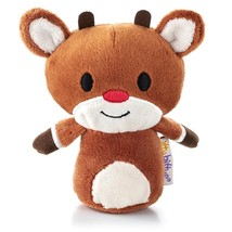 Hallmark Itty Bitty Bittys Rudolph The Red Nosed Reindeer - Retired - NW... - $14.98