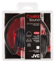 JVC Victor Head-band Foldable Headphones | HA-S400-R Red (Japanese Import) - $51.22