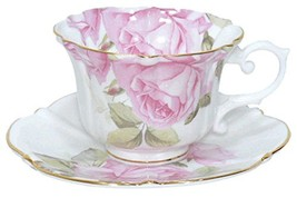 NEW ROYAL ARDEN Rose Coffee Cup & Saucer 240ml ... - $49.74