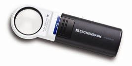 New! ESCHENBAC LED Hand Held Magnifier 12.5x wi... - $107.40