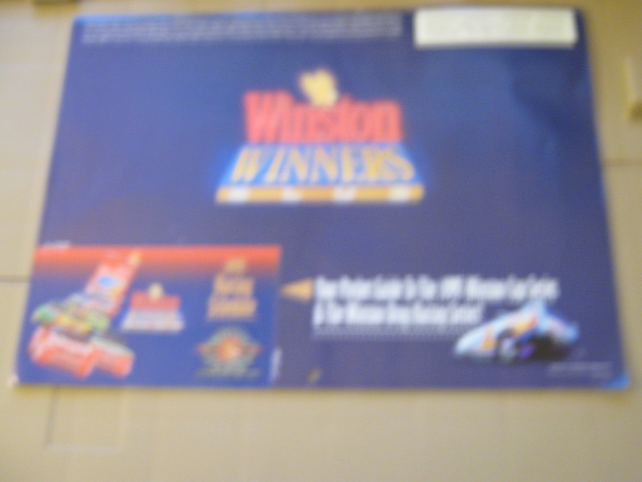 1995 , WINSTON WINNERS CLUB , CALENDAR , NEW