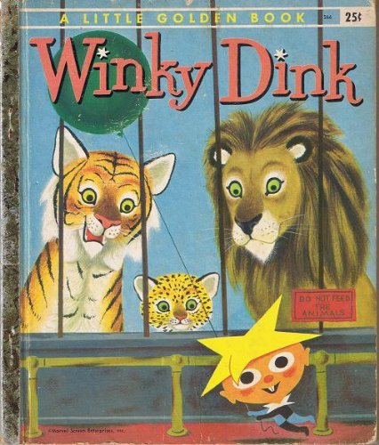 Primary image for Winky Dink A Little Golden Book [Hardcover] [Jan 01, 1956] McGovern, Ann & Ri...